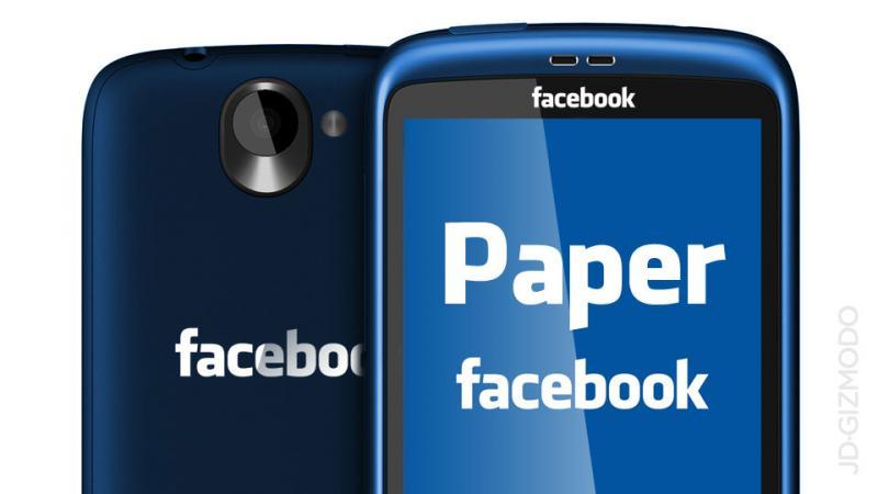 Facebook presenta PAPER la nuova interfaccia per leggere le notizie [Video]