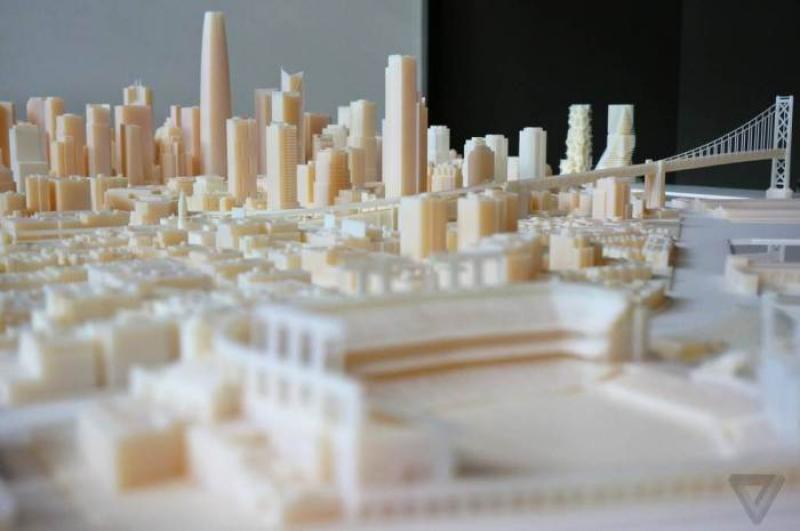 Tutta San Francisco in stampa 3D, c\\\'� da aspettarsi un ritorno all\\\'analogico per gli effetti speciali? [VIDEO]