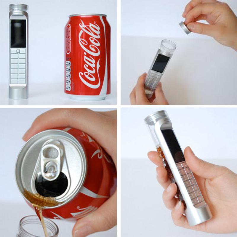 Nokia: un telefonino alimentato a... CocaCola [video]